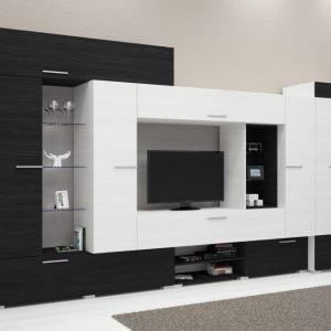 Modern ledes szekrénysorok